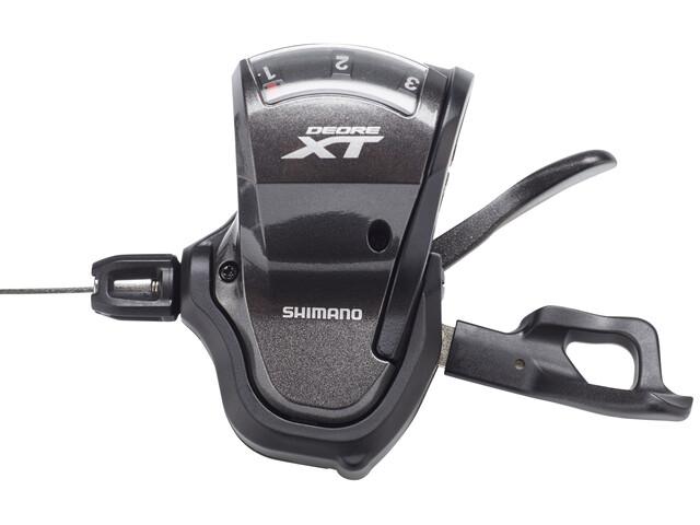 Shimano Deore XT Trekking SL-T8000 Schalthebel 3-fach Schwarz